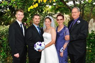 Chiropractor Ogden IA Rick Elbert with Family